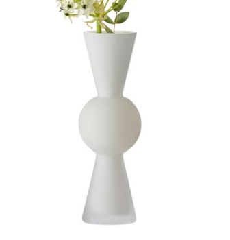 Ваза Design House Stockholm  Bon Bon White opaque frosted