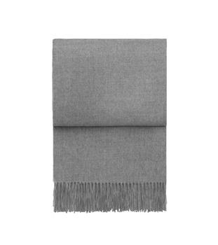 Плед Elvang Luxury light grey