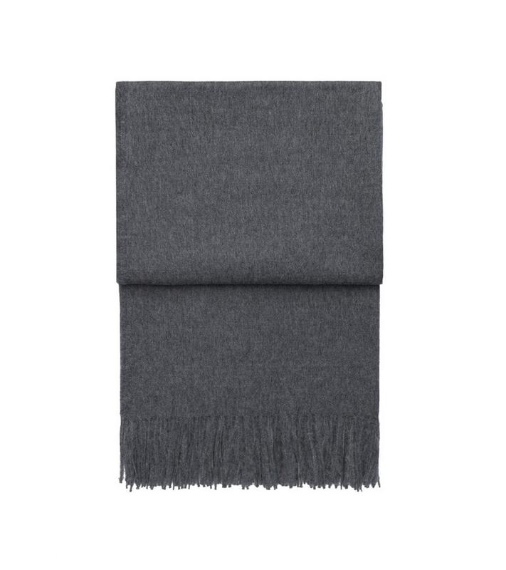 Плед Elvang Luxury grey. Изображение 1