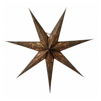 Новогоднее светодиодное украшение в виде звезды Watt & Veke Ebba 80, bronze