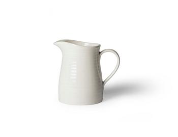 Кувшин Design House Stockholm  Blond creamer white\stripe
