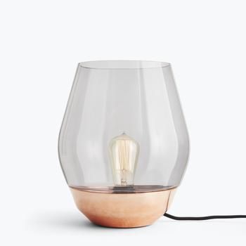 Настольный светильник New Works Bowl Table Lamp - Raw Copper