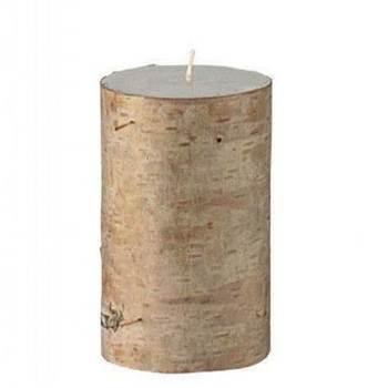 Cвеча с берестяной корой Broste Copenhagen