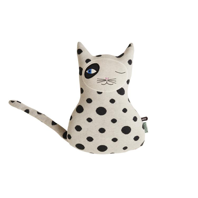 Декоративная подушка Oyoy Cat Zorro. Изображение 1