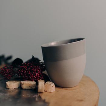Чашка Ment Kaffekopp Gra