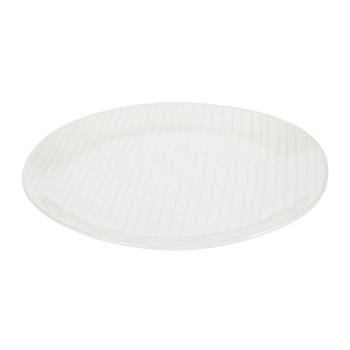 Десертная тарелка  Broste Copenhagen Copenhagen ivory with stripe