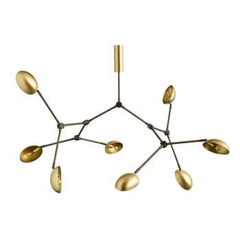Подвесной светильник 101 COPENHAGEN Drop Chandelier Brass
