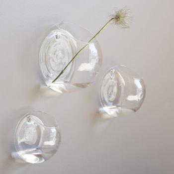 Настенная ваза DBKD Wall glass, размер medium