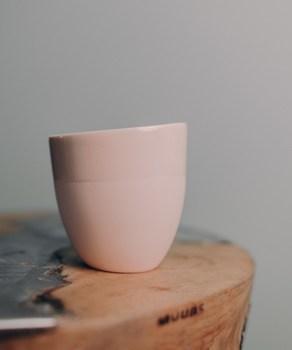 Чашка Ment Kaffekopp Lys Rosa
