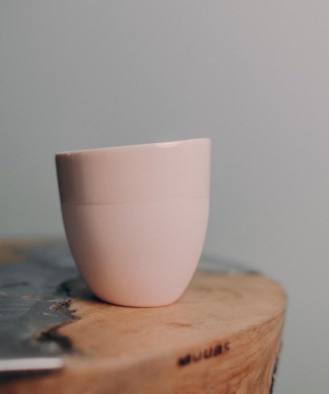 Чашка Ment Kaffekopp Lys Rosa. Изображение 1