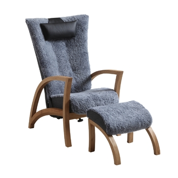 Кресло с приставным пуфом Broderna Anderssons Focus