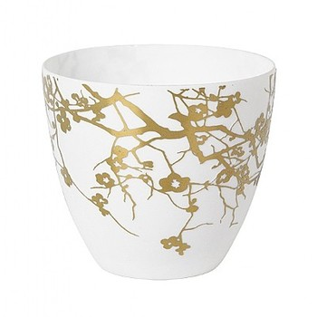 Подсвечник Broste Copenhagen winter tree white\gold