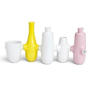 Набор из подствечника и вазы Kähler Fiducia