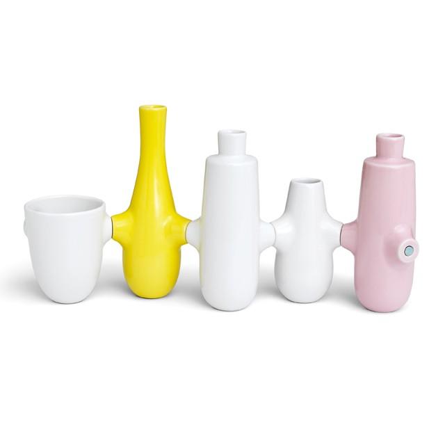 Набор из подствечника и вазы Kähler Fiducia . Изображение 1