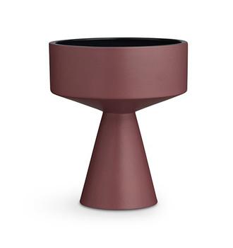 Кашпо/напольная ваза Kähler Fiora bordeaux/blue