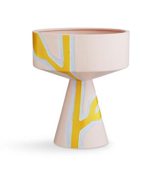 Кашпо/напольная ваза Kähler Fiora pink
