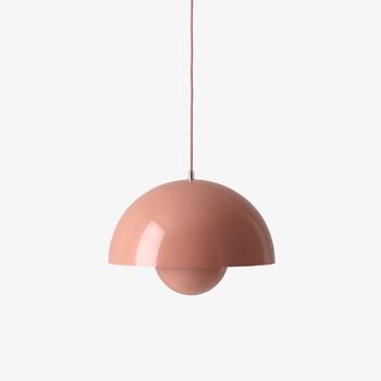 Подвесной светильник &Tradition Flowerpot VP7 beige red