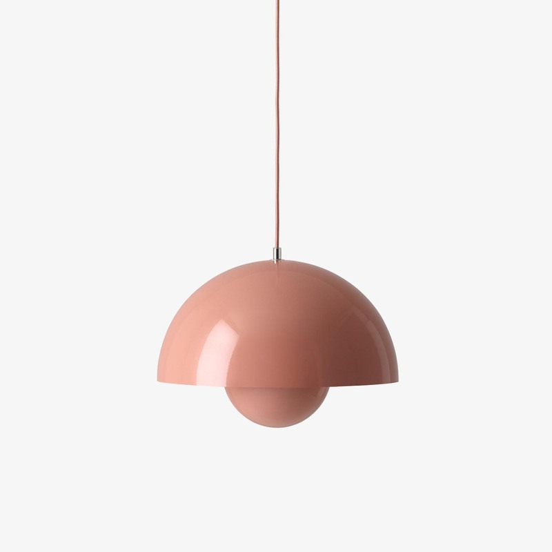 Подвесной светильник &Tradition Flowerpot VP7 beige red. Изображение 1