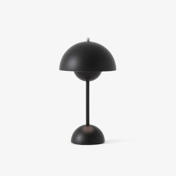Настільна лампа &Tradition Flowerpot table portable VP9 matt black
