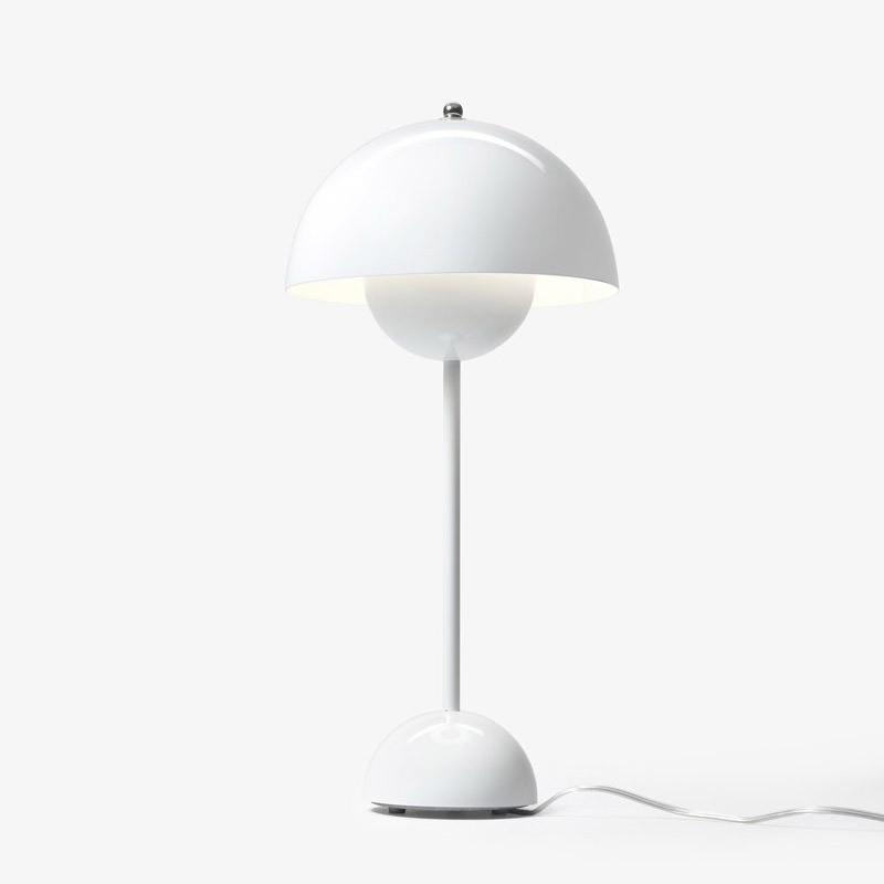 Настольная лампа &Tradition  Flowerpot VP3 - White. Изображение 1
