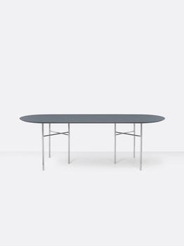 Стол ferm LIVING Mingle Table Top 220 cm+Legs W68