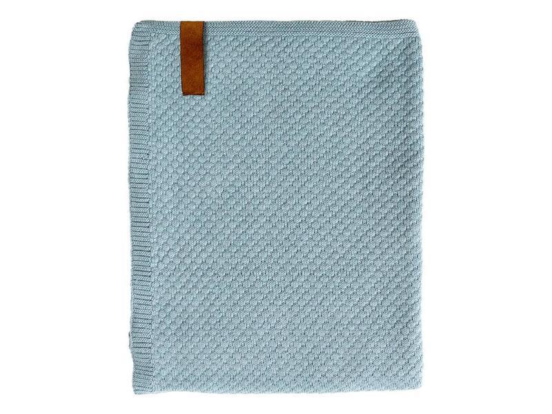 Плед Sodahl Sailor knit teal . Изображение 1