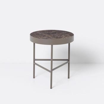 Стол  Marble table brown medium