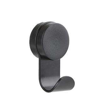 Крючок для полотенца Zone, black, H14 см