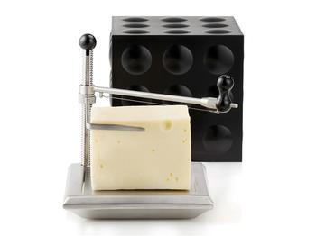 Прибор для нарезки сыра Nuance Cube Black