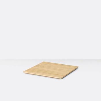 Лоток для кашпо с растениями Tray for Plant Box oiled oak