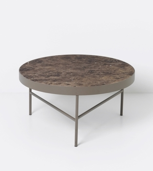 Стол ferm LIVING Marble Table - Brown - Large