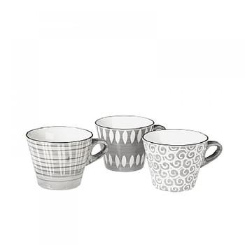 Чашка Broste Copenhagen Modern grey