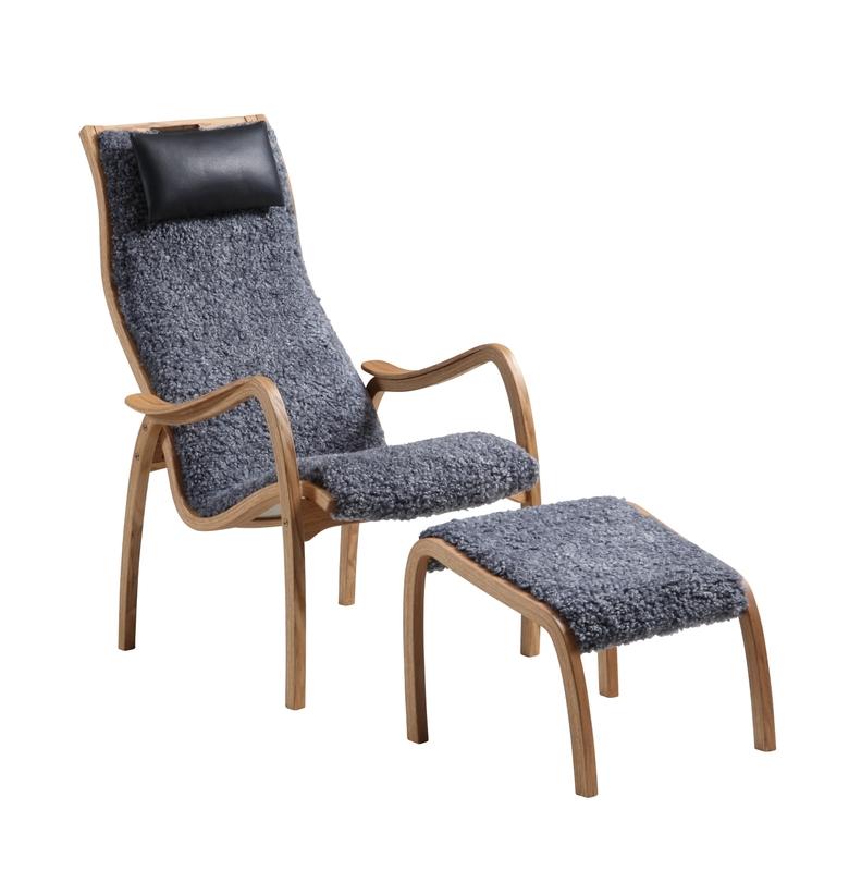 Кресло с приставным пуфом Broderna Anderssons Kaptenen . Изображение 1