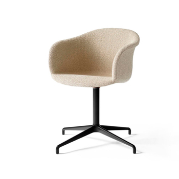 Кресло Elefy chair JH33 black base в ткани Karacorum 003