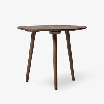 Стол In Between SK3 / Smoked Oiled Oak Ø90cm