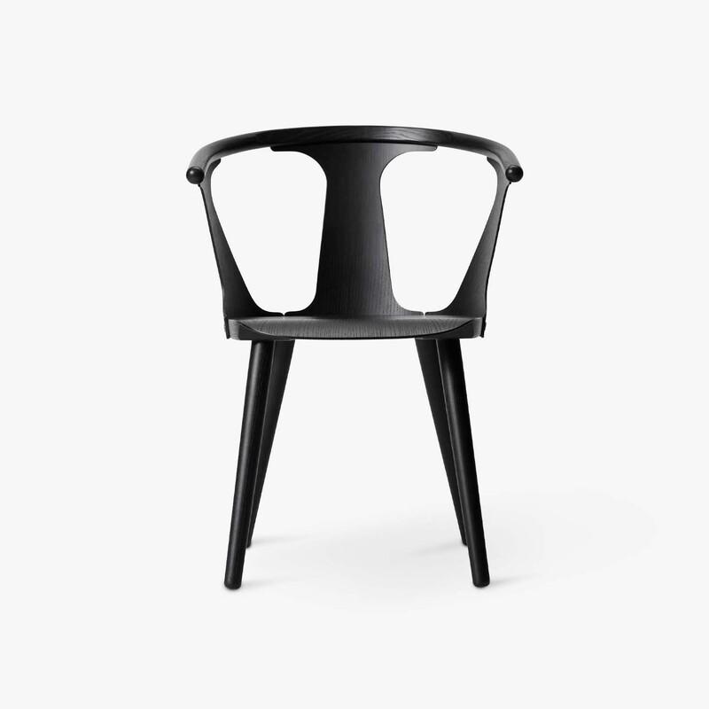 Стул &Tradition In between chair SK1 black. Изображение 1
