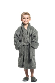 Халат Luin spa Kids Bathrobe Granite