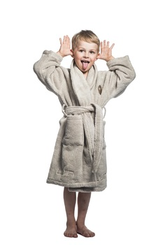 Халат Luin spa Kids Bathrobe Sand