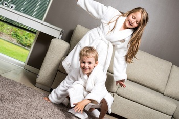 Халат Luin spa Kids Bathrobe Snow
