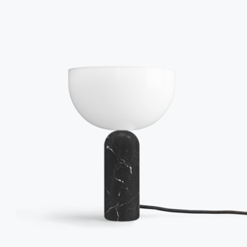 Настольная лампа New works Kizu Table Lamp, Black marble, small