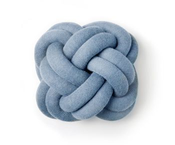 Подушка Design House Stockholm Knot Blue
