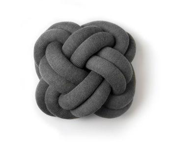 Подушка Design House Stockholm Knot Grey