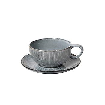 Чашка с блюдцем Broste Copenhagen  Nordic sea