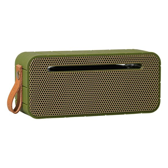 Спикер Kreafunk aMOVE army green with gold front. Изображение 1
