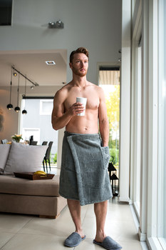 Килт для бани Luin spa Men's Wrap Towel Granite