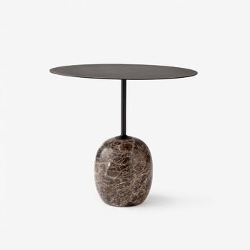 Стол &Tradition Lato Table LN9 black&dark marble
