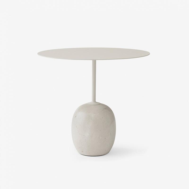 Стол &Tradition Lato table LN9 oval ivory white. Изображение 1