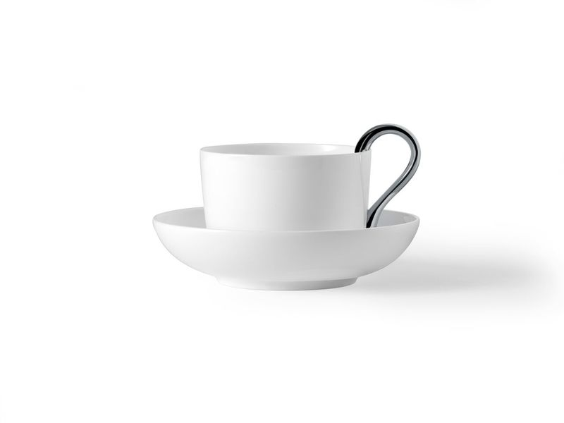 Чашка Design House Stockholm Mine tea cup white. Изображение 1