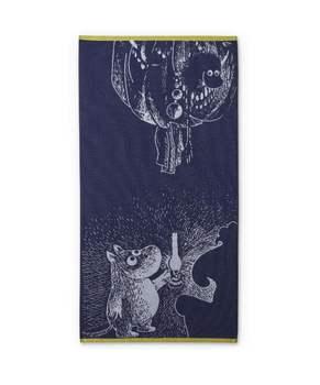 Полотенце Finlayson  Moomin and the ancestor dark blue dark blue