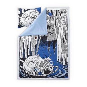 Набор постельного белья Finlayson Snufkin and my Dark blue